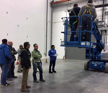 Boom Lift Certificate Training