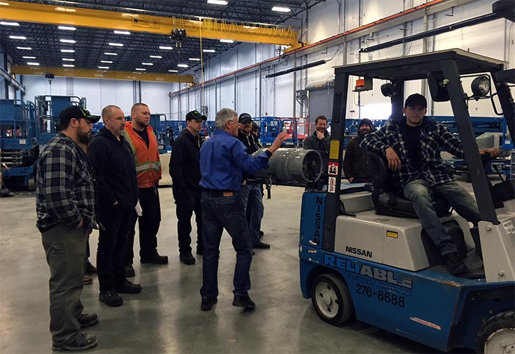 Reliable Training Class 1 4 5 Forklift Certification Training